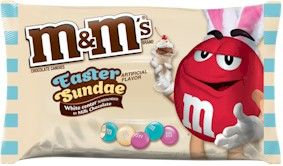 Easter Sundae White M&M's