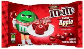 Candy Apple M&M's