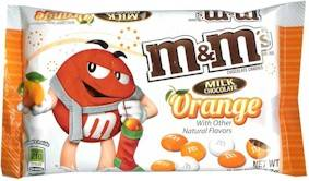 Orange Chocolate M&M's