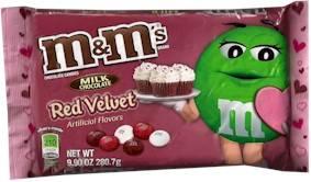 Red Velvet M&M's
