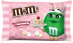 White Chocolate Strawberry Shortcake M&M's